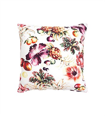 Wallace Cotton Cantina Square Cushion Cover