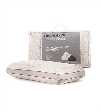Sleepmaker Fusion Gel Pillow Low Profile