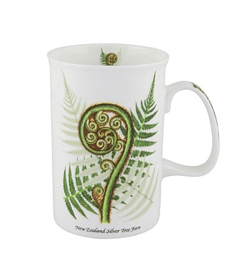 Ashdene NZ Silver Fern Tree Mug