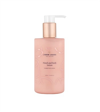 Linden Leaves Clementine & Basil Hand and Body Lotion 300ml