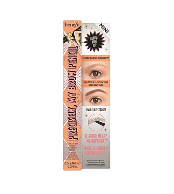 Benefit Precisely, My Brow Eyebrow Pencil Travel Size Mini - 3.75