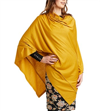 Foil Poncho Rectangle Cape