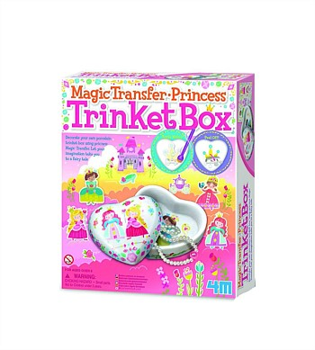 4M Craft Magic Transfer Princess Trinket Box