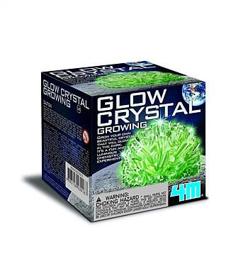 4M Craft Glow Crystal Growing Kit