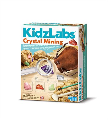 4M Craft Kidz Labs, Crystal Mining Kit