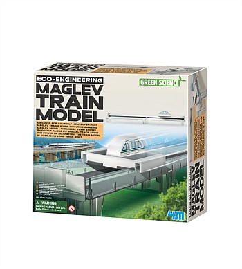 4M Craft Green Science, Maglev Train Model