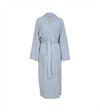 Wallace Cotton Misty Waffle Robe