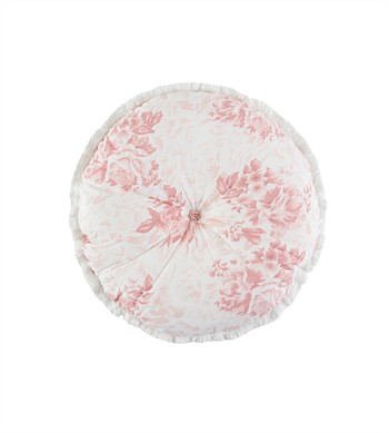 Wallace Cotton Flossie Round Cushion