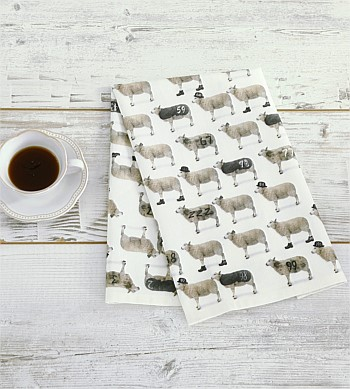 M.M Linen Counting SheepTea Towel
