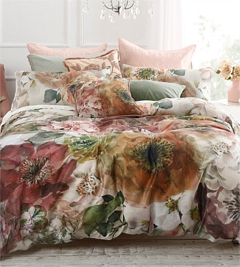 M.M Linen Arlette Duvet Cover Set, King Single/Double