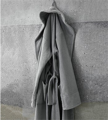 M.M Linen Finn Bathrobe, L