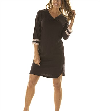 La Marquise Long Sleeve Night Dress