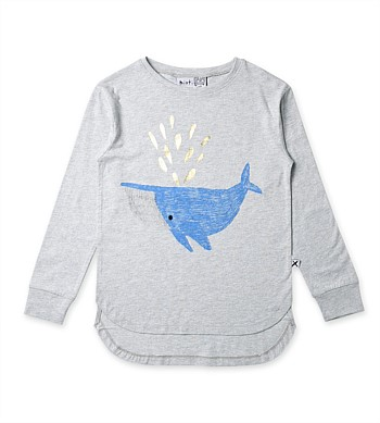 Minti Happy Whale Tee