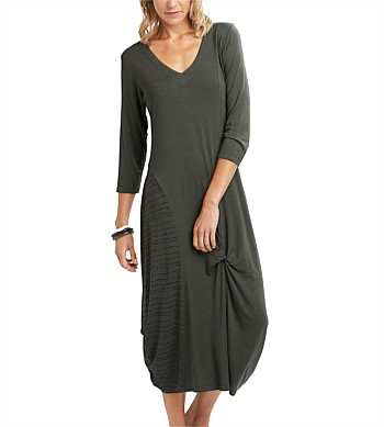 Esplanade Drape Hem  Dress