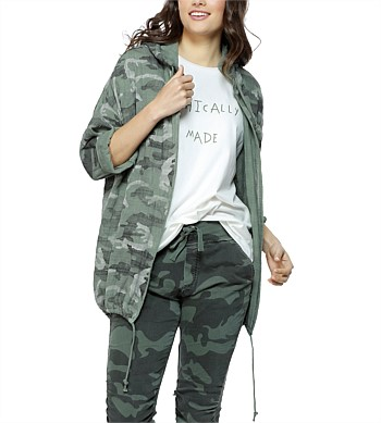 Threadz Camouflage Zip Jacket