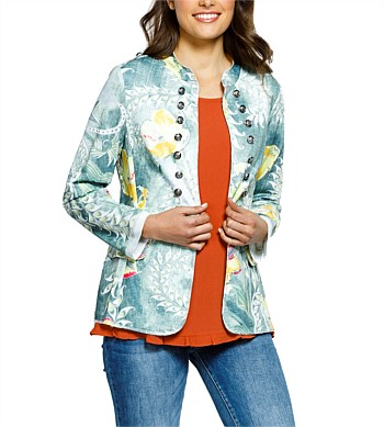 Threadz Print Jacket