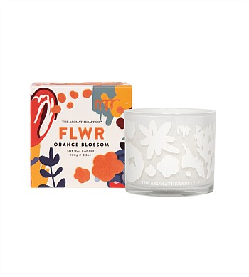 The Aromatherapy Co FLWR Candle Orange Blossom