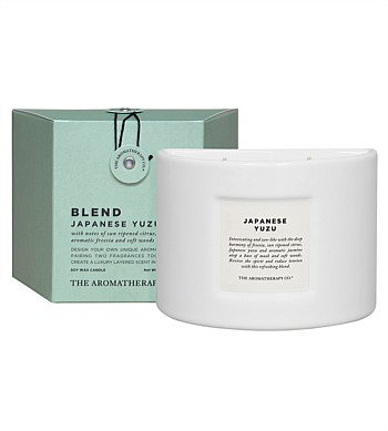 The Aromatherapy Co Blend Japanese Yuzu Candle