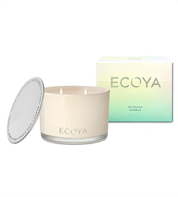 Ecoya Citronella & Lemongrass Outdoor Candle