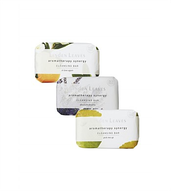 Linden Leaves Aromatherapy Synergy Cleansing Bar