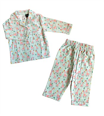 P Jammies Giraffe Girls PJs