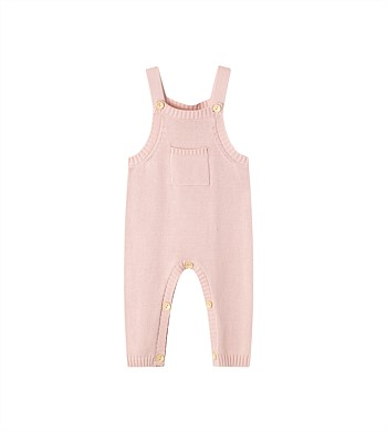Cracked Soda Coco Knitted Overall - Baby (0000-2)