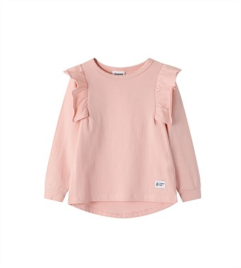 Cracked Soda Piper Frill Top - Kids (3-8)