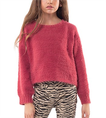Eve Girl Holly Fluffy Knit