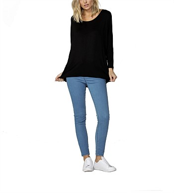 Betty Basics Milan 3/4 Sleeve Top