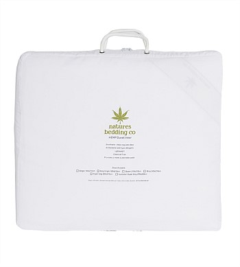 Natures Bedding Co Hemp Duvet Inner 500gsm Queen