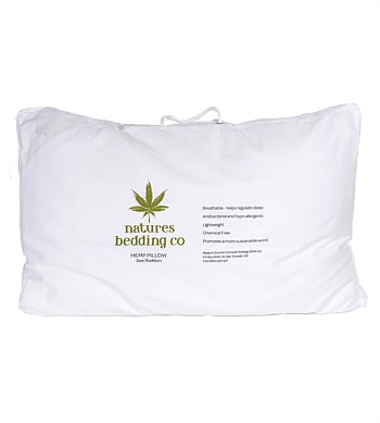 Natures Bedding Co Hemp Pillow