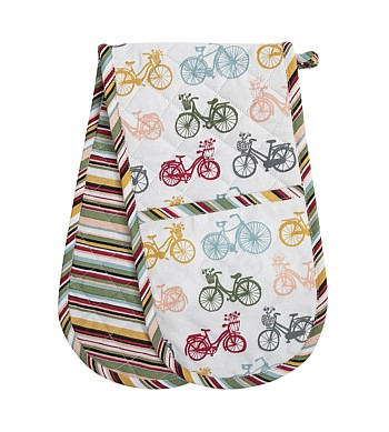 Wallace Cotton Kitchen Cruiser Double Oven Glove