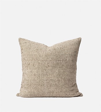 Citta Freida Silk Blend Cushion Cover Matcha/Natural 50x50cm