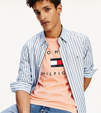 Tommy Hilfiger Slim Houndstooth Shirt