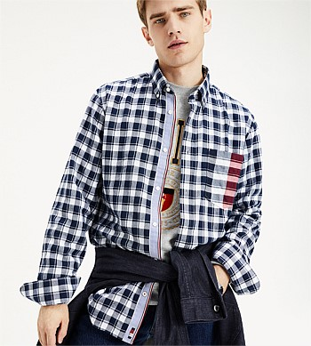 Tommy Hilfiger Gingham Stripe Shirt