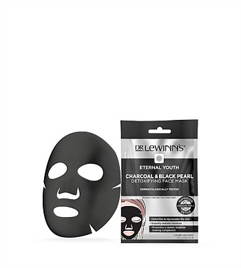 Dr Lewinns Eternal Youth Charcoal & Black Pearl Detox Face Mask