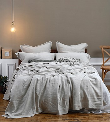 MM Linen Crozet Bedspread Super King
