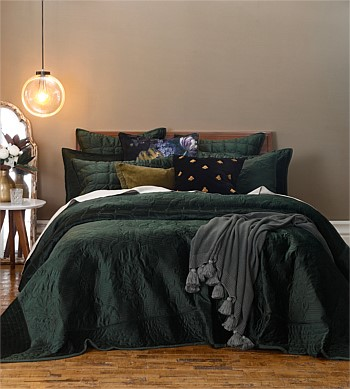 MM Linen Florentina Bedspread Set Super King