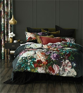 MM Linen Florenza Velvet Duvet Super King
