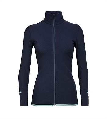 Icebreaker Descender Long Sleeve Zip Jacket