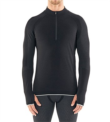 Icebreaker 200 Zone Seamless Long Sleeve Half Zip Top