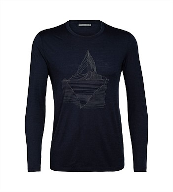 Icebreaker Tech Lite Long Sleeve Crew Oneberg