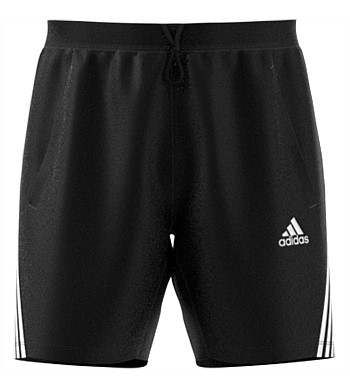 Adidas Mens Aero 3 Stripe Short