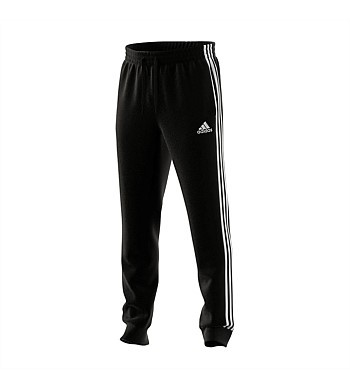 Adidas Mens 3 Stripe Slim Tapered Cuffed Pants