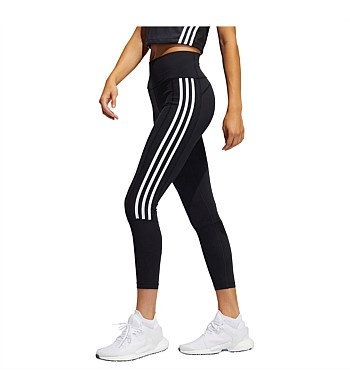 Adidas Womens 2.0 3 Stripe 7/8 Tights