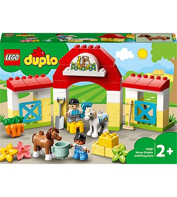 Duplo Horse Stable & Pony Care