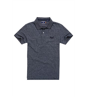 Superdry Jersey Polo Orange Label