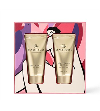 Glasshouse Lost In Amalfi & Montego Duo Hand Cream