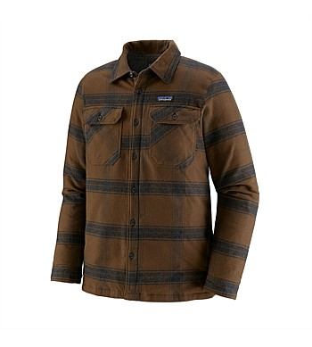 Patagonia Mens Insulated Flannel Jacket