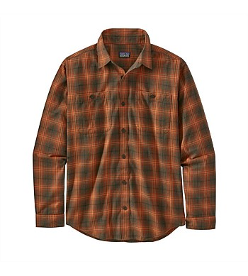 Patagonia Mens Long Sleeve Pima Shirt